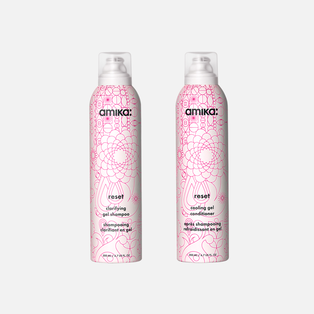 reset clarifying gel shampoo + cooling conditioner duo